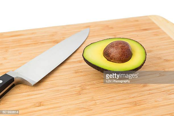 Knife & Avocado