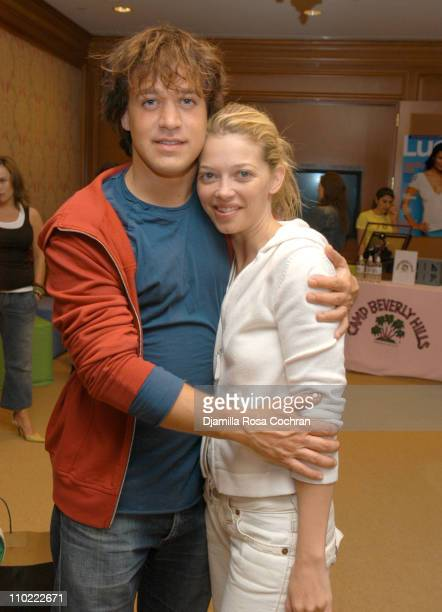 TR Knight and Amanda Detmer during Lucky/Cargo Club Day 3 at The Ritz Carlton Central Park South in New York City New York United States