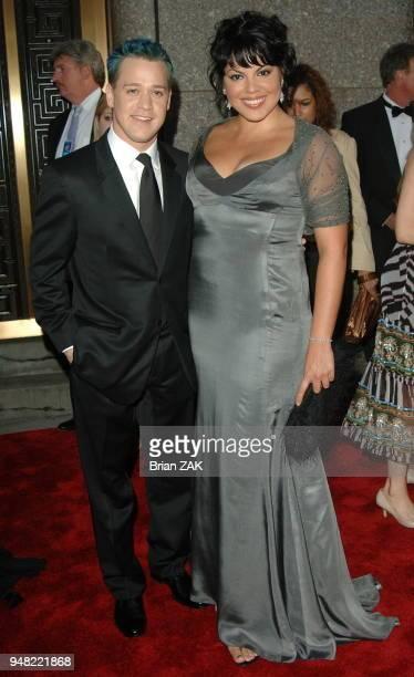 TR Knight and Sara Ramirez arrive to the 60th Annual Tony Awards held at Radio City Music Hall New York City BRIAN ZAK