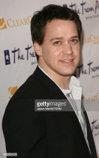 TR Knight during The Trevor Project's Cracked Xmas 9 Arrivals at The Wiltern LG in Hollywood California United States