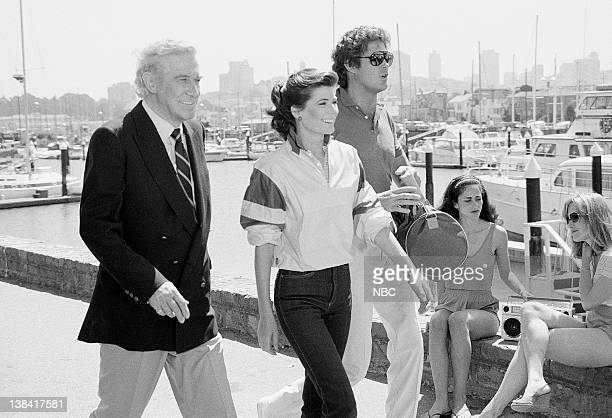RIDER Knight of the Drones Part 1 Episode 1 Aired Pictured Edward Mulhare as Devon Miles Patricia McPherson as Bonnie Barstow David Hasselhoff as...