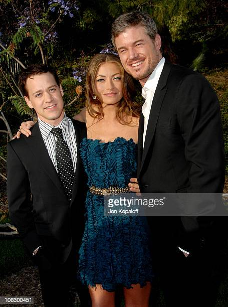 TR Knight Rebecca Gayheart and Eric Dane during Sixth Annual Chrysalis Butterfly Ball Arrivals at Home of Susan Harris Hayward Kaiser in Mandeville...