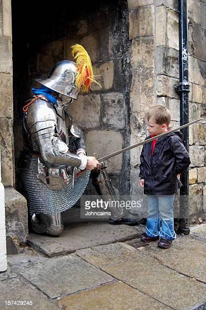Knighted enfant.
