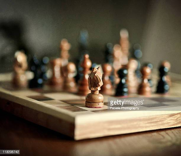 knightkeh - chess stock pictures, royalty-free photos & images
