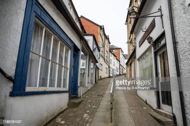 knighton, powys, wales - wales stock pictures, royalty-free photos & images