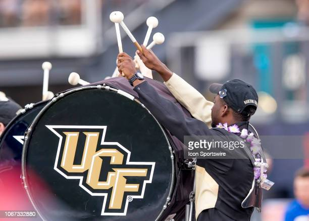 Knights band during the AAC Championship football game between the UCF Knights and the Memphis Tigers on December 1 2018 at Bright House Networks...