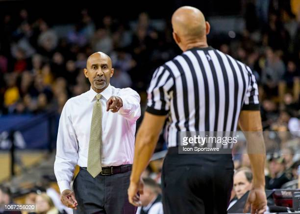 Knights head coach Johnny Dawkins during the basketball game between the UCF Knights and the and Alabama Crimson Tide on November 29 2018 at CFE...
