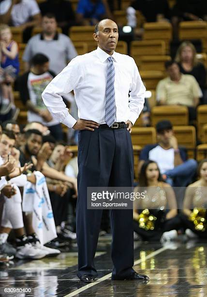 Knights head coach Johnny Dawkins during the mens basketball game between the UCF Knights and the East Carolina Pirates on January 3 2017 at the CFE...
