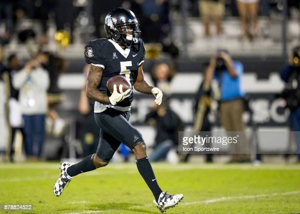 Knights wide receiver Dredrick Snelson scores for UCF goahead tough down during the football game between the UCF Knights and USF Bulls on November...
