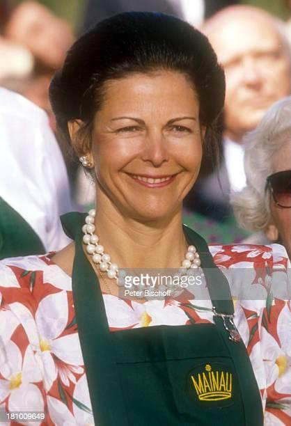 Königin Silvia von Schweden Mainau/Bodensee 80 Geburtstag von G r a f L e n n a r t B e r n a d o t t e Insel Adel Adelige Königsfamilie Garten...