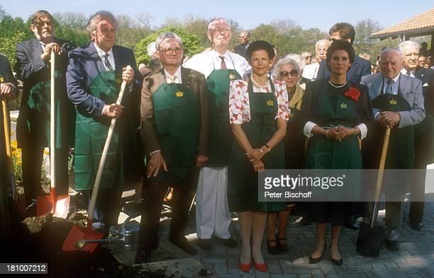 Königin Silvia von Schweden Sonja Bernadotte Mainau/Bodensee 80 Geburtstag von G r a f L e n n a r t B e r n a d o t t e Insel Adel Adelige...