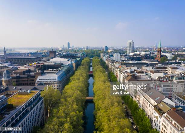königsallee - düsseldorf stock pictures, royalty-free photos & images
