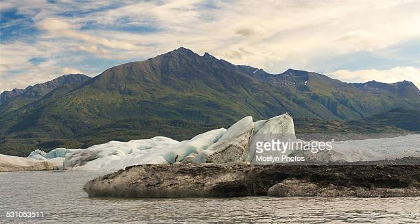 Knik River, Glacier and Mountains
