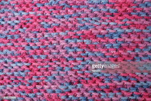 Knitted acrylic background