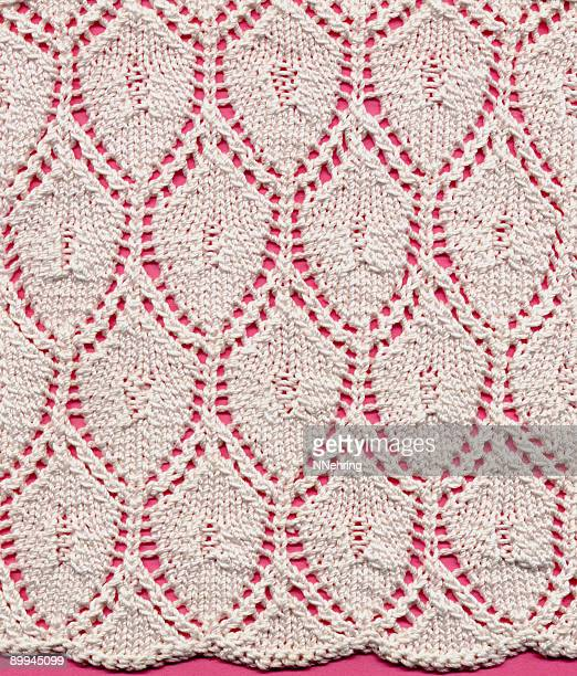 knitted lace ground - lace textile stock pictures, royalty-free photos & images
