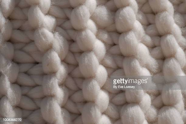 knitted wool - knitted stock pictures, royalty-free photos & images