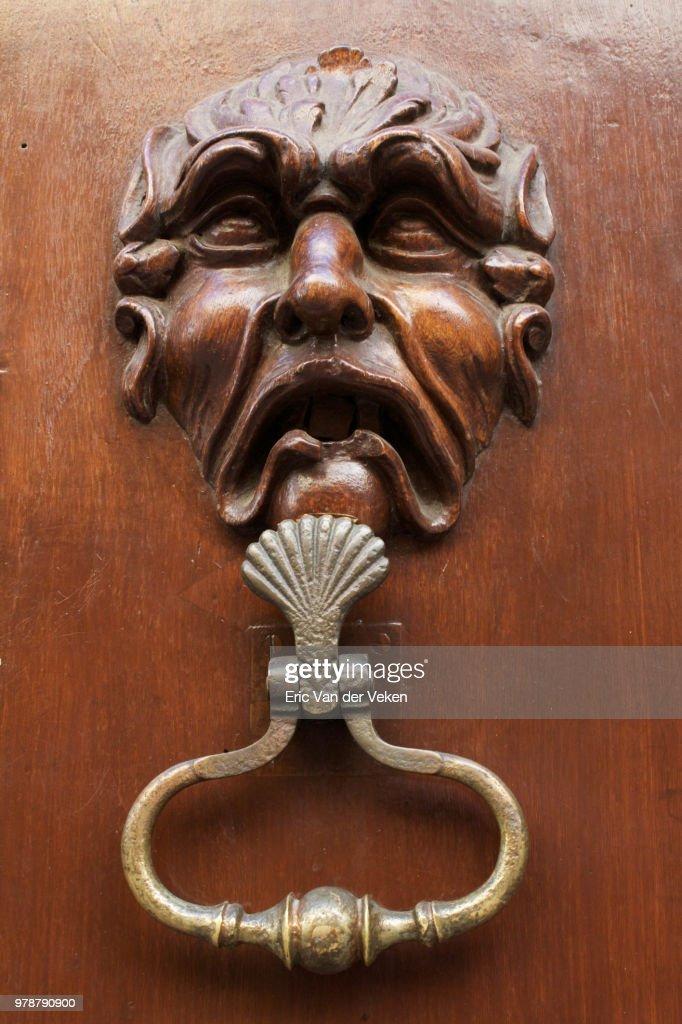 Knock knock : Stock Photo