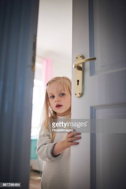 knock knock, who's there? - doorway stock pictures, royalty-free photos & images