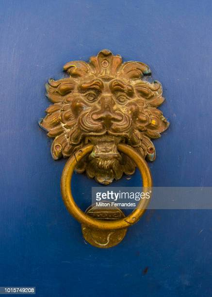 knocker - door knocker stock photos and pictures
