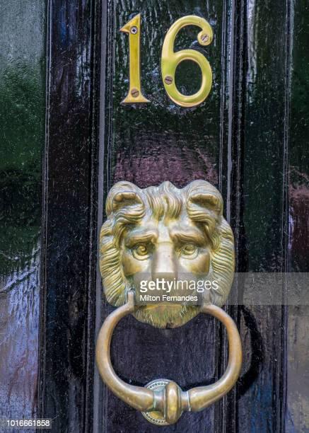 knocker - door knocker stock photos and pictures