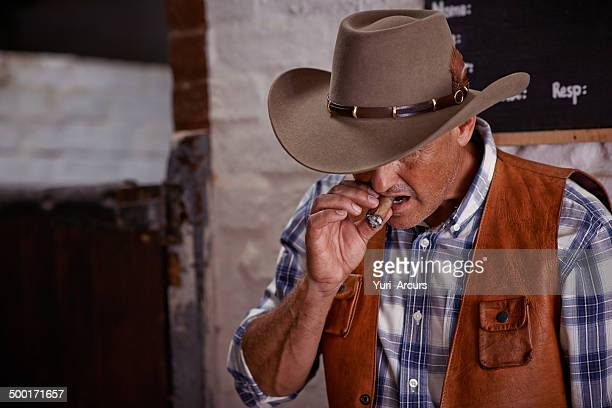 Knocking off time for the cowboy