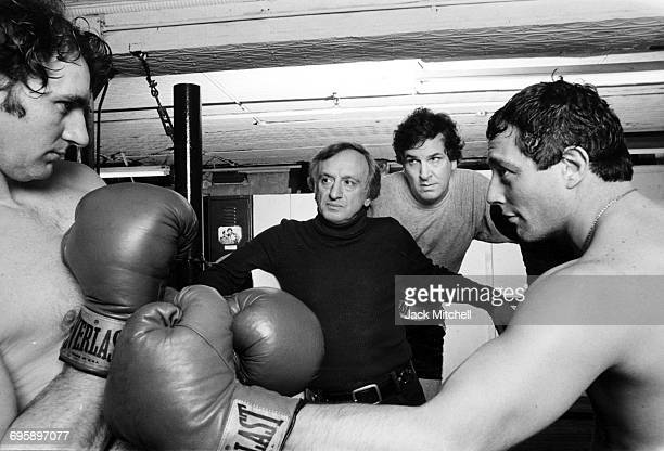 Knockout a Broadway play rehearsal with Frank Bongiorno director Frank Cosaro Danny Aiello and Michael Aronin in 1979