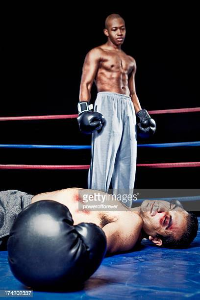 knockout - beaten stock photos and pictures