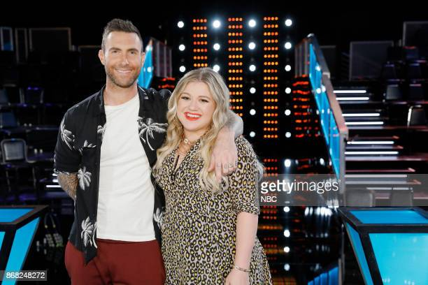 THE VOICE 'Knockout Reality' Pictured Adam Levine Kelly Clarkson
