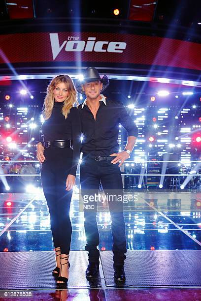 THE VOICE 'Knockout Reality' Pictured Faith Hill Tim McGraw