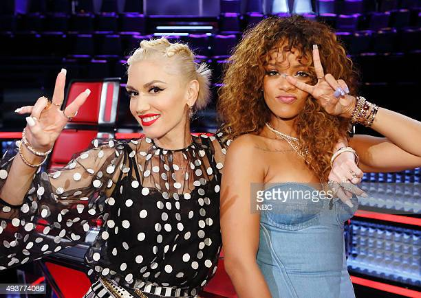 THE VOICE 'Knockout Reality' Pictured Gwen Stefani Rihanna