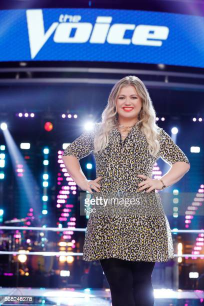 THE VOICE 'Knockout Reality' Pictured Kelly Clarkson