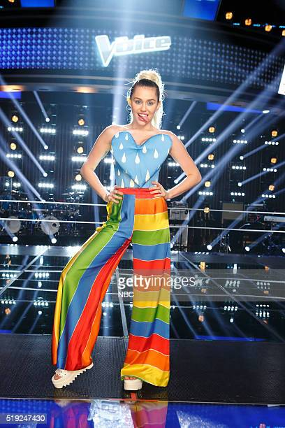 THE VOICE 'Knockout Reality' Pictured Miley Cyrus