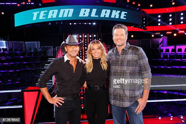 THE VOICE 'Knockout Reality' Pictured Tim McGraw Faith Hill Blake Shelton