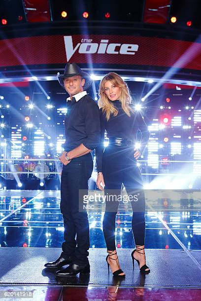THE VOICE Knockout Reality Pictured Tim McGraw Faith Hill