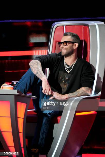 THE VOICE Knockout Rounds Episode 1512 Pictured Adam Levine