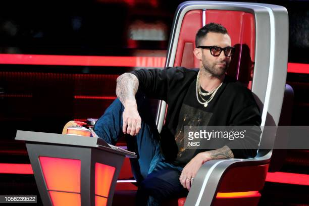 THE VOICE 'Knockout Rounds' Episode 1513 Pictured Adam Levine