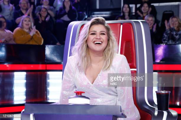 THE VOICE Knockout Rounds Episode 1810 Pictured Kelly Clarkson
