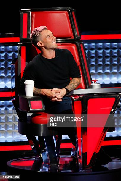THE VOICE Knockout Rounds Pictured Adam Levine