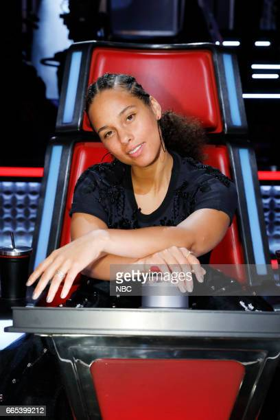 THE VOICE 'Knockout Rounds' Pictured Alicia Keys