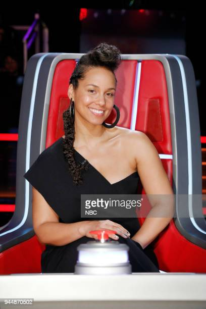 THE VOICE Knockout Rounds Pictured Alicia Keys