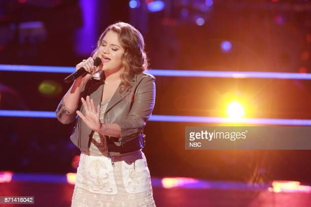 THE VOICE 'Knockout Rounds' Pictured Anna Catherine DaHart