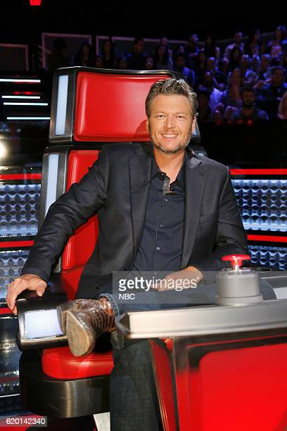 THE VOICE Knockout Rounds Pictured Blake Shelton