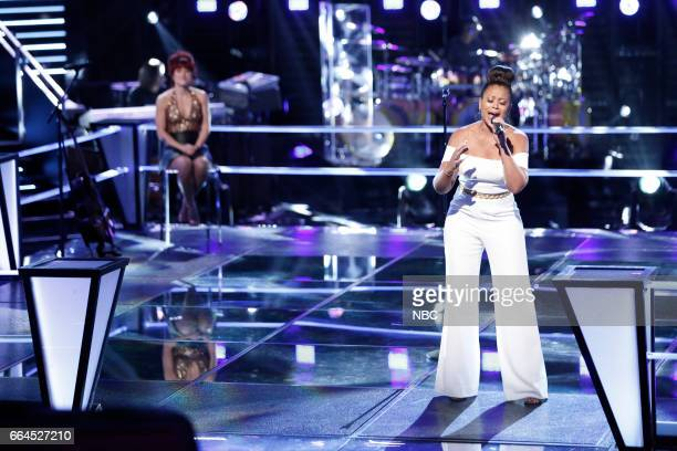 THE VOICE 'Knockout Rounds' Pictured Casi Joy Felicia Temple