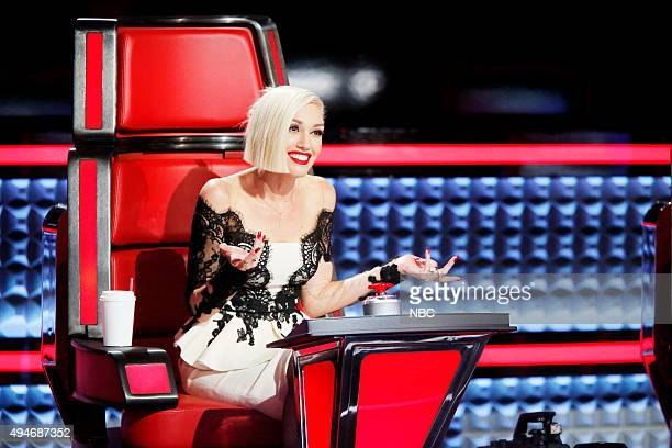 THE VOICE 'Knockout Rounds' Pictured Gwen Stefani