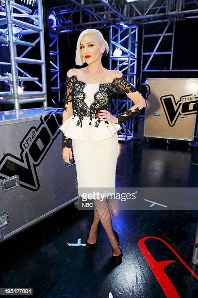 THE VOICE Knockout Rounds Pictured Gwen Stefani
