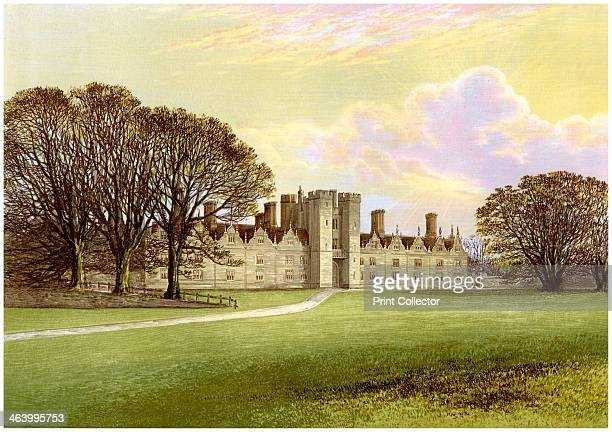 Knole near Sevenoaks Kent home of Lord Sackville c1880 The house was built in the second half of the 15th century by Thomas Bourchier Archbishop of...
