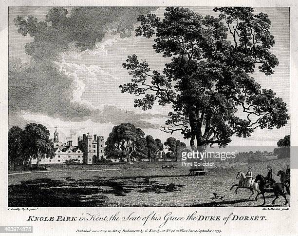 'Knole Park in Kent the Seat of His Grace the Duke of Dorset' 1775 In the early 17th century Knole was transformed from a late medieval archbishop's...