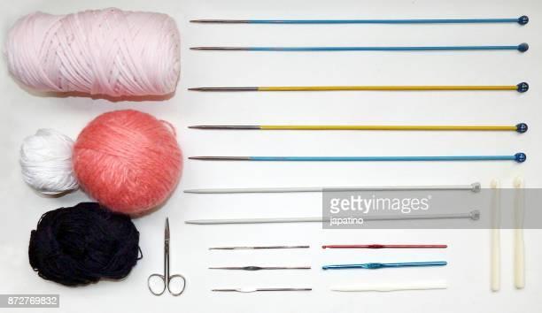 Knolling. Crochet
