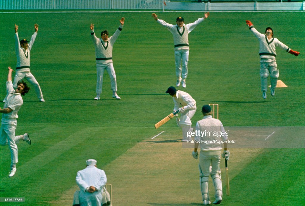 England v Australia, 1st Test, Old Trafford, June 1972 : News Photo