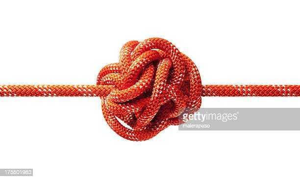 knotted rope - string stock pictures, royalty-free photos & images